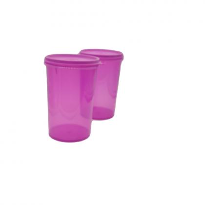 Tupperware Cherrio Quad (2 pcs) 1L