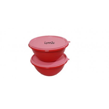 Tupperware Wonderlier Bowl Set (2) 1.7L