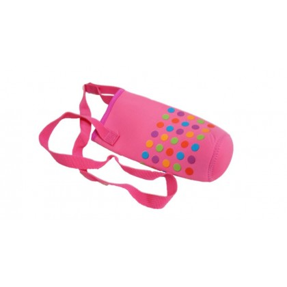 Pouch for 500ml Bottle - Rose Red