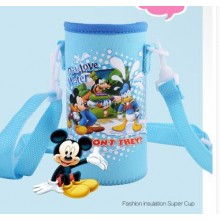 Pouch for 500ml Bottle - Blue Disney