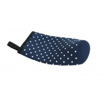 Pouch for 500ml Bottle - Polk Dot Dark blue