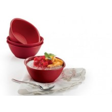 Tupperware Blossoms Bowls (4) 200ml