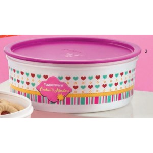 Tupperware Cookie Canister (1) 1.75L-Purple