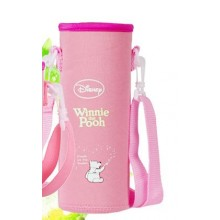 Pouch for 500ml Bottle (1) -Pink Winnie the Pooh