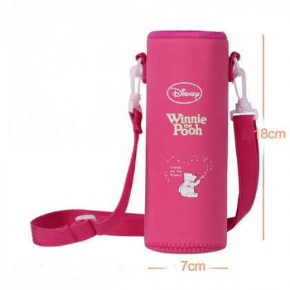 Pouch for 500ml Bottle (1) - Red Winnie the Pooh