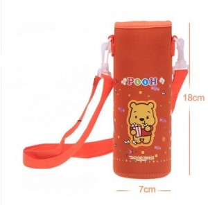 Pouch for 500ml Bottle (1) - Orange Winnie the Pooh