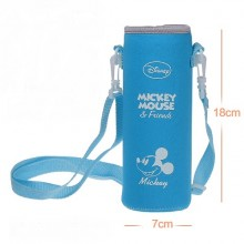 Pouch for 500ml Bottle (1) - Blue Mickey Mouse