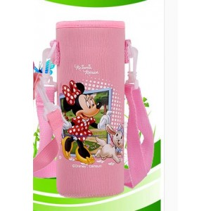 Pouch for 500ml Bottle (1) - Pink Minnie