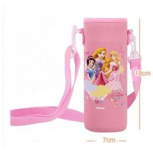 Pouch for 500ml Bottle (1) - Pink Snow White