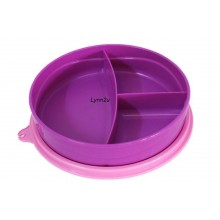 Tupperware Twinkle Divided Plate (1) 350ml