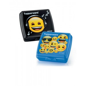 Tupperware emoji Sandwich Keeper (1pc)