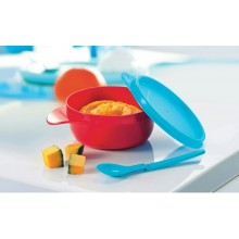 Tupperware Twinkle Easy Grip Bowl with Hang On Spoon