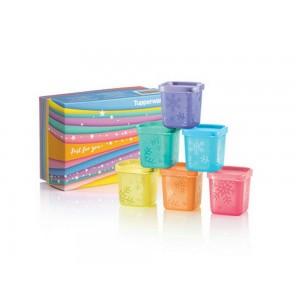 Tupperware Rainbow Cubes Gift Set (6) 80ml