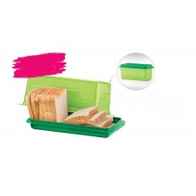 Tupperware Bread Server (1) 3.0L - Green