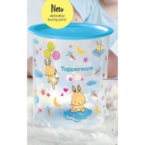 Tupperware Happy Bunny Bundle One Touch (1) 2L