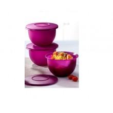 Tupperware Expression Bowl Small (3) 1.3L