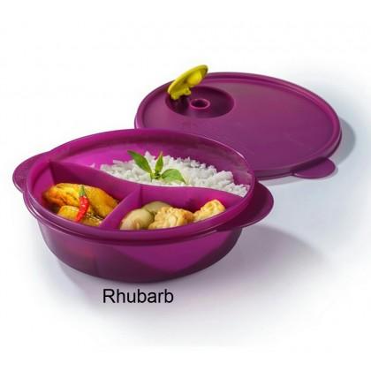 Tupperware Crystalwave Divided Dish (1) 900ml