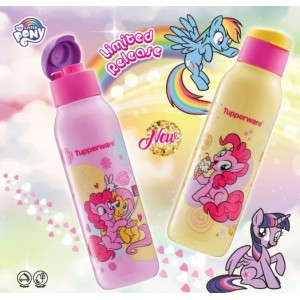 Tupperware My Little Pony Eco Bottle Set (2) 750ml