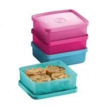 Tupperware Mini Square Away (4) 140ml
