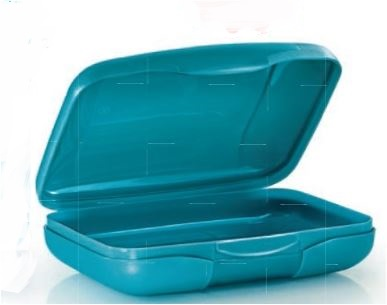 Tupperware Slim Sandwich Keeper (1) - Blue