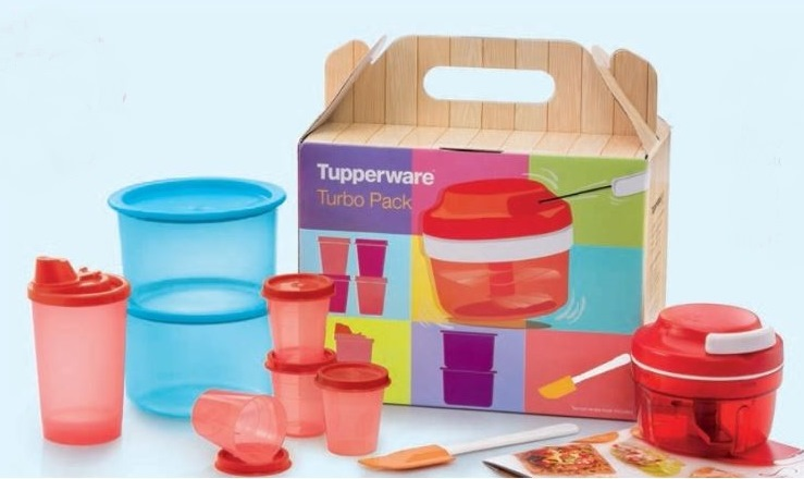 Tupperware Turbo Pack