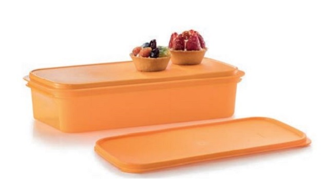 Tupperware Shallow Carry All (1) 3.2L - Orange