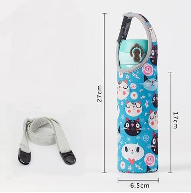 Pouch for 500ml Bottle (1) - Portable Handle + shoulder Strap