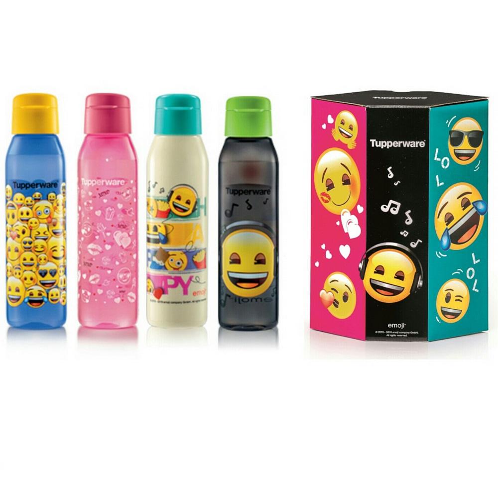 Tupperware emoji Eco Bottle with Gift Box (4) 500ml