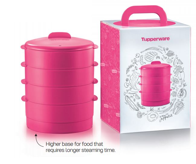 Tupperware Steam it with Gift Box (1)