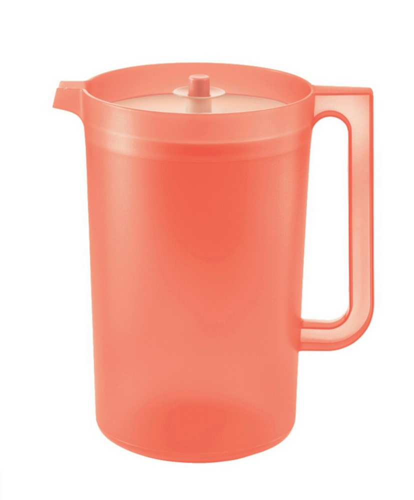 Tupperware Coral Blooms Giant Pitcher (1) 4.2L