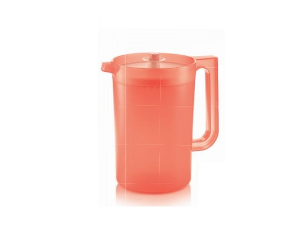 Tupperware Coral Blooms Pitcher (1) 2L