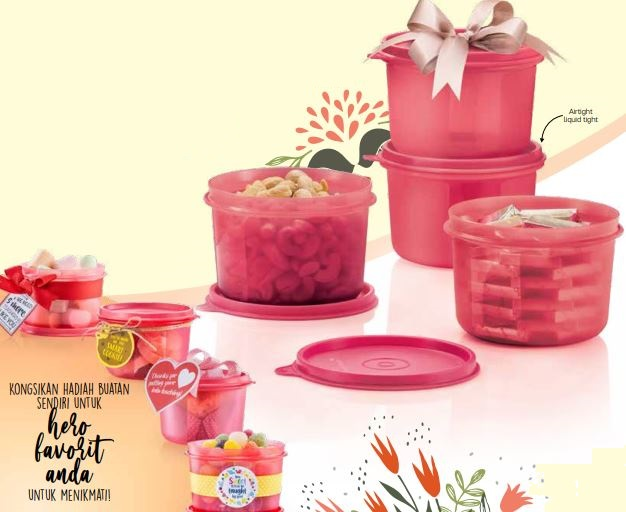 Tupperware Snack N All (4) 450ml