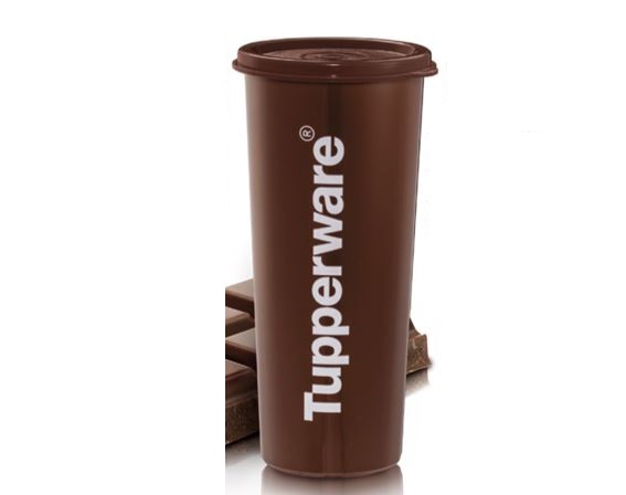 Tupperware Cool Choco Tumbler (1pc) 470ml